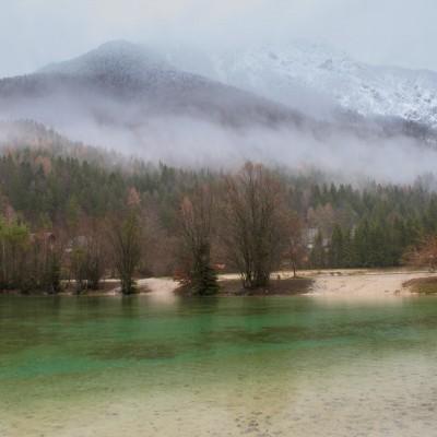 Lago di Jasna, Slovenia