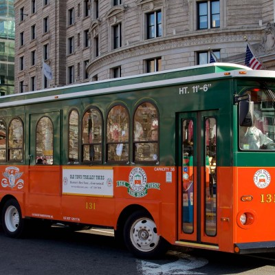 Boston, Old Town Trolley Tours