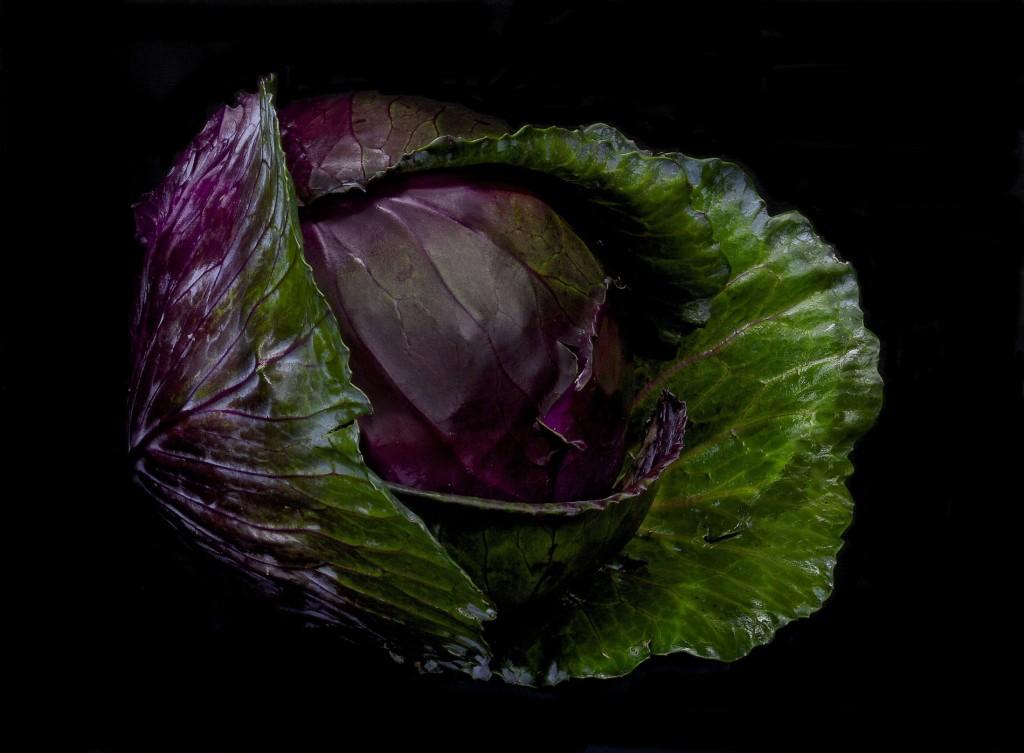 cavolo viola - light painting