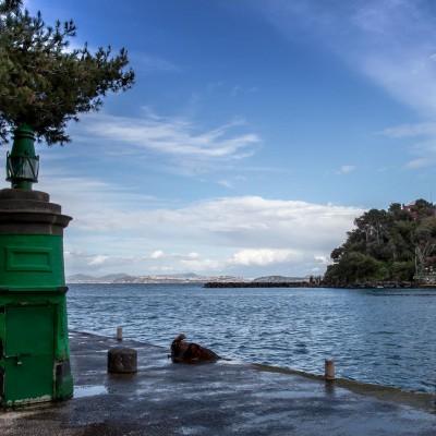 Imboccatura del Porto di Ischia