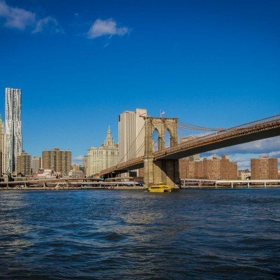 New York City Skyline & Brooklyn Bridge