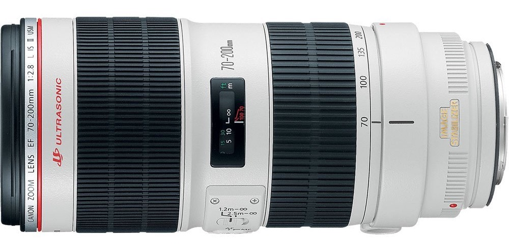 Canon EF 70-200mm f/2.8L IS II USM lens - il biancone