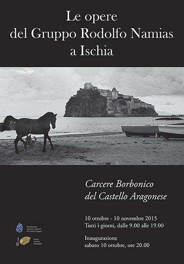 Gruppo Rodolfo Namias - locandina della mostra ad Ischia