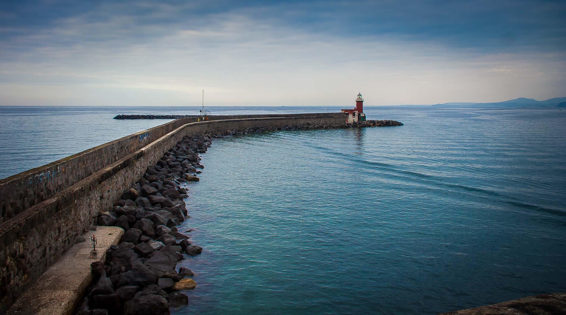 il faro del porto di Ischia
