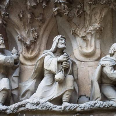 Sagrada Familia, Adorazione dei Magi
