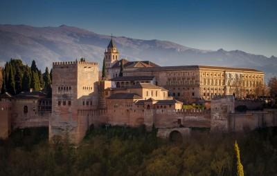 Alhambra, veduta dal Mirador de San Nicolàs