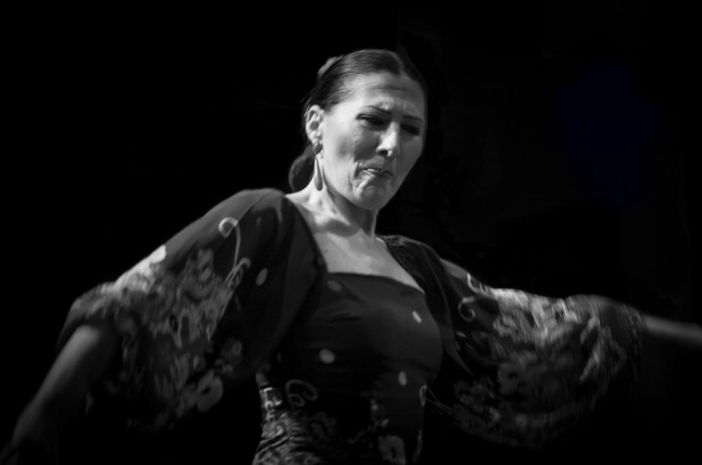 Siviglia, ballerina di Flamenco a La Casa del Flamenco Auditorio Alcantara