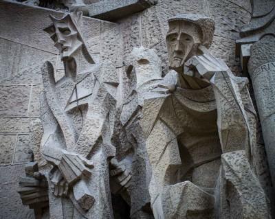 Sagrada Familia, Ecce Homo by Subirach