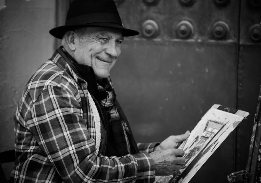 Siviglia, artista di strada
