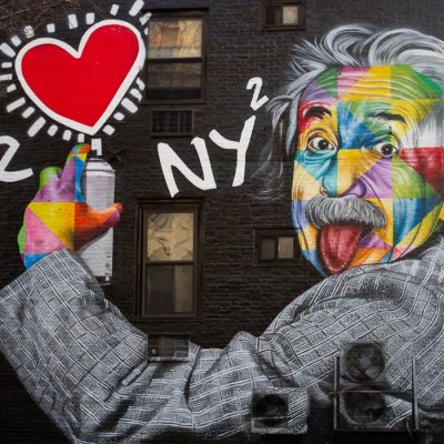 New York City, murales by Kobra