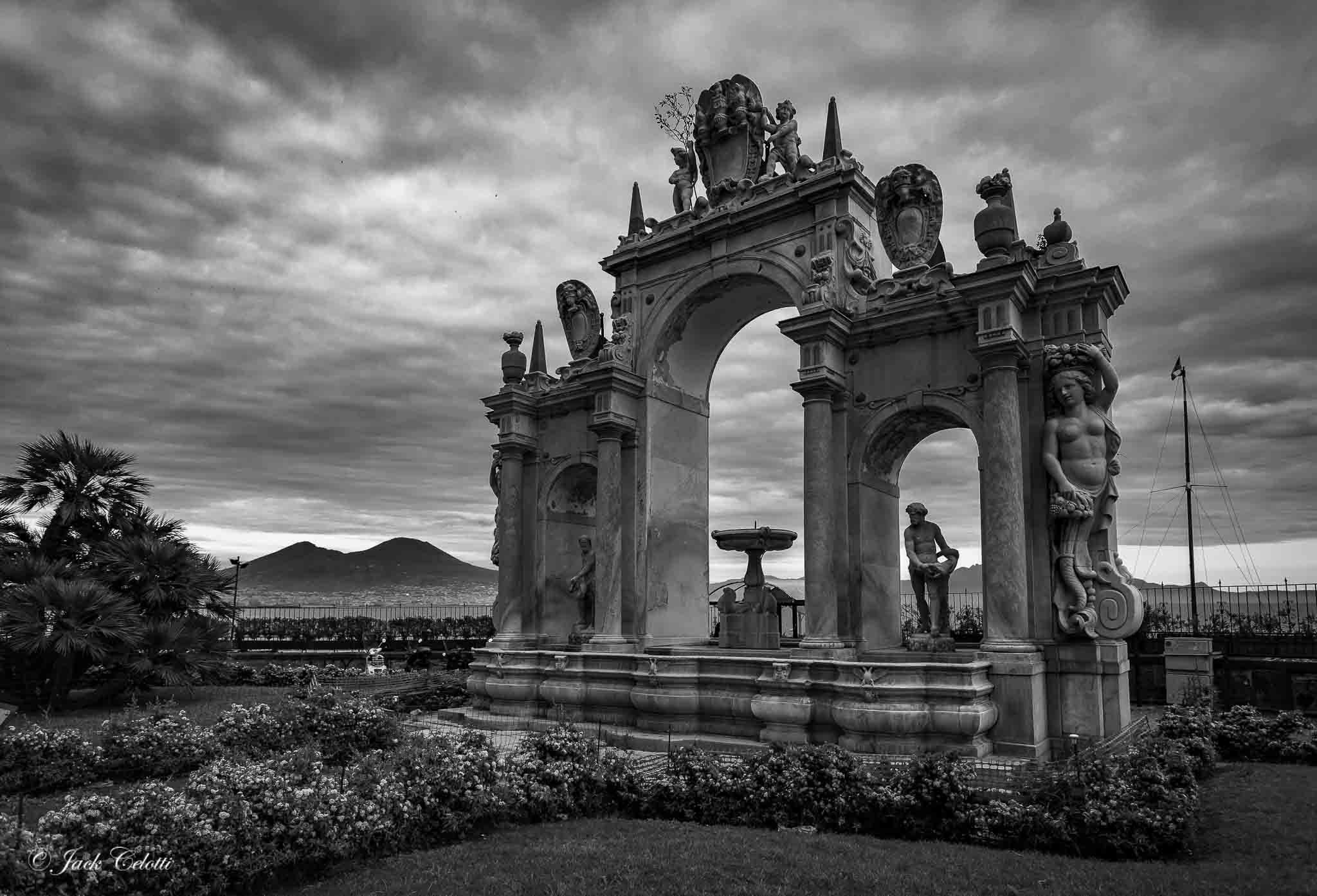 la fontana del gigante